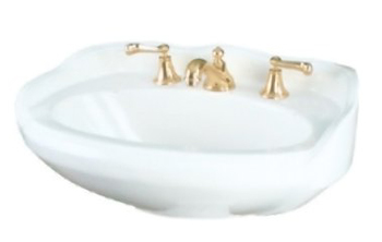 St. Thomas Creations 5128.082.01 Vitreous China Lavatory Sink - White