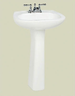 St. Thomas Creations 5201.040.02 Marathon Senior Complete Pedestal Sink - Bone (Pictured in White)