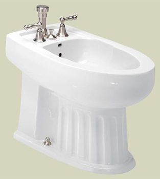 St. Thomas Creations 7119.003.01 Arlington Vertical Spray Bidet - White