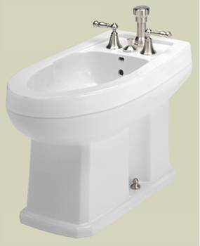 St. Thomas Creations Neo-Venetian/Richmond 7123.003.01 Vertical Spray Bidet - White
