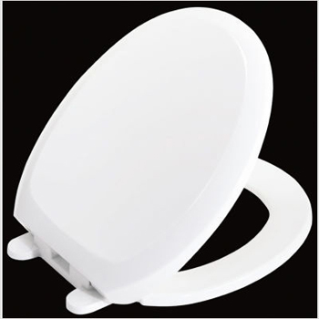 St. Thomas Creations 9400.480.02 Round Front Toilet Seat - Bone (Pictured in White)