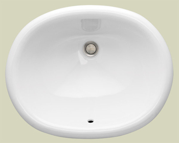 St. Thomas Creations 1013.000.01 Madrid Petite Countertop Bathroom Sink - White