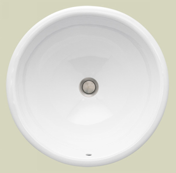 St. Thomas Creations 1025.000.01 Martinique Countertop Lavatory Sink - White