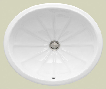 St. Thomas Creations 1027.000.01 Avion Medium Undermount Bathroom Sink - White