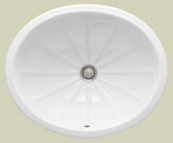 St. Thomas Creations 1029.000.02 Avion Undermount Lavatory Sink - Bone (Pictured in White)