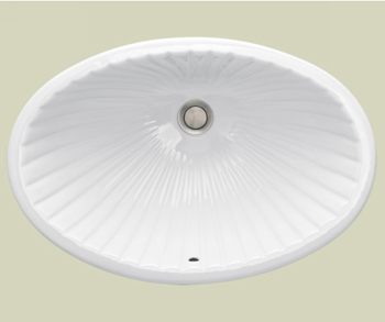 St. Thomas Creations 1034.000.01 Del Mar Undermount Lavatory Sink - White