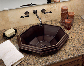 St. Thomas Creations 1042.000.06 Mallorca Vessel Lavatory Sink - Balsa (Pictured in German Bronze)