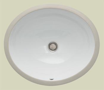 St. Thomas Creations 1061.000.02 Vanity Medium Undermount Bathroom Sink - Bone (Pictured in White)