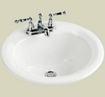 St. Thomas Creations 1205.080.01 Marathon Series Bath Sink - Self Rimming - White