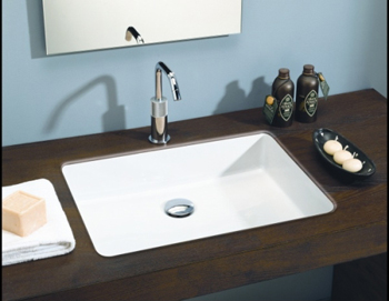 St. Thomas Creations 1350.001 Box 50 Undermount Lavatory Sink - White