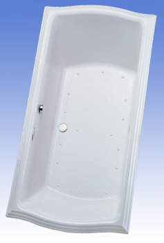 Toto ABA784R-12NC Clayton Air Bathtub - Sedona Beige (Pictured in Cotton White)