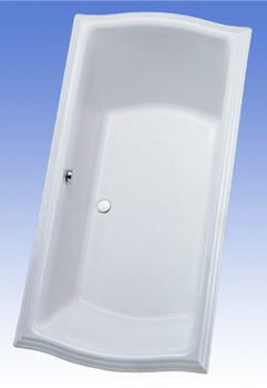 Toto ABY784N-01YC Clayton Acrylic Air Bath - Cotton White