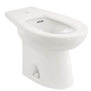 Toto BT500AR-11 Piedmont Residential Bidet Single Hole Faucet Mount - Colonial White (Pictured in Cotton White)