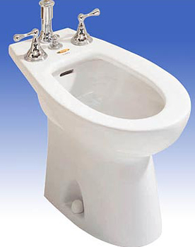 Toto BT500B-01 Piedmont Residential Bidet - Cotton White