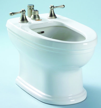 Toto BT774B-03 Carrollton Residential Bidet - Bone (Pictured in Cotton White)