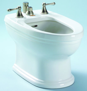 Toto BT774B-11 Carrollton Residential Bidet - Colonial White (Pictured in Cotton White)