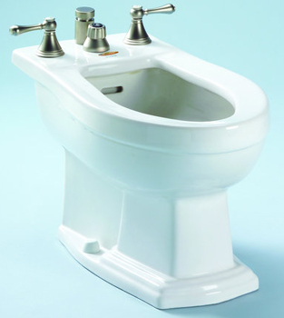 Toto BT784B-01 Clayton Residential Bidet - Cotton White