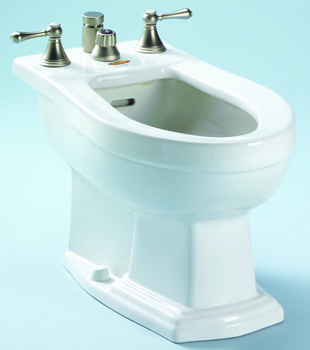 Toto BT784B-03 Clayton Residential Bidet - Bone (Pictured in Cotton White)