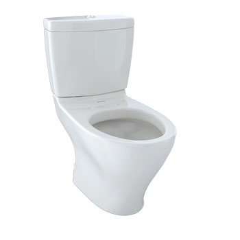 Toto CST416M-11 Aquia Residential Close Coupled Toilet - Colonial White (Pictured in Cotton White)