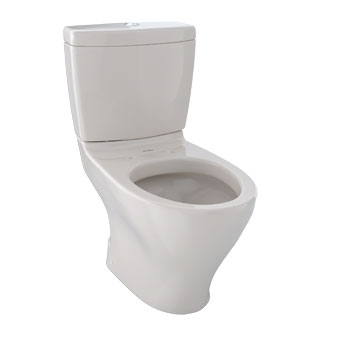 Toto CST416M-12 Aquia Residential Close Coupled Toilet - Sedona Beige (Pictured in Cotton White)