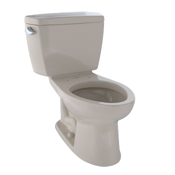 Toto CST744S-03 Drake Suite Two Piece Elongated Toilet - Bone (Pictured in Cotton White)