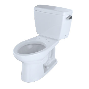 Toto CST744SLR-01 Drake Suite Two Piece Elongated Toilet - Cotton White