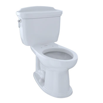 Toto CST754SF-51 Dartmouth Suite Two Piece Elongated Toilet - Ebony (Pictured in Cotton White)