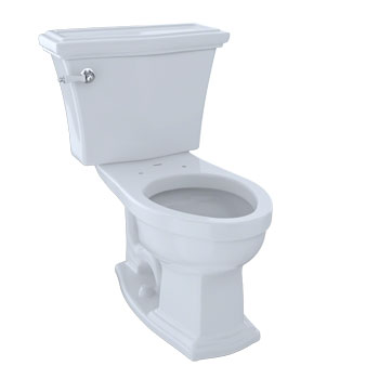 Toto CST784SF-51 Clayton Suite Two Piece Elongated Toilet - Ebony (Pictured in Cotton White)
