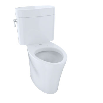 Toto CST794EF-01 Eco Nexus Suite Two Piece Elongated Toilet - Cotton White