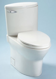 Toto CST804S-51 Pacifica Suite Two Piece Elongated Toilet - Ebony (Pictured in Cotton White)