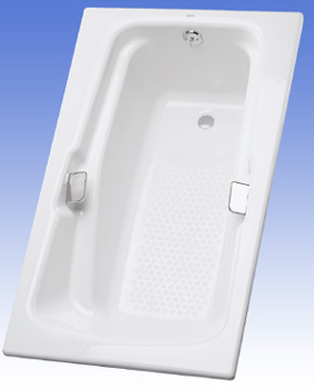 Toto FBY1800P-12 Enameled Cast Iron Tub - Sedona Beige (Pictured in Cotton White)