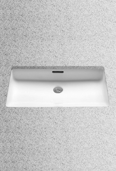 Toto LT191G-01 Undercounter Lavatory with SanaGloss - Cotton White