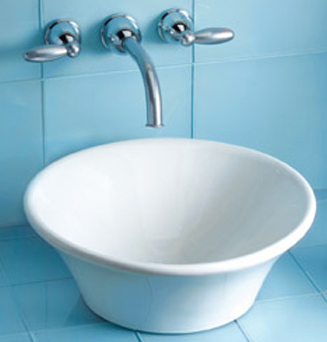Toto LT524G-03 Alexis Vessel Lavatory With SanaGloss - Bone (Pictured in Cotton)