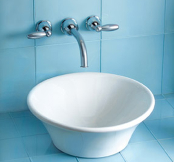 Toto LT524G-11 Alexis Suite Vessel Lavatory Sink - Colonial White (Pictured in Cotton White)