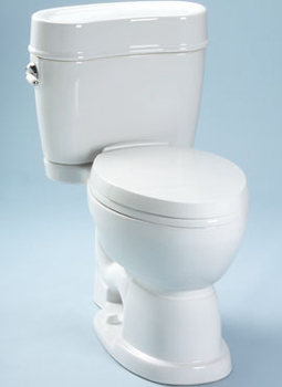 Toto MS756204SF-01 Mercer Suite Two Piece Elongated Toilet - Cotton White