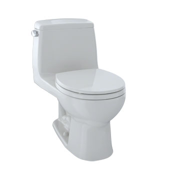 Toto MS853113S-11 Ultramax Suite One Piece Round Toilet - Colonial White (Pictured in Cotton White)