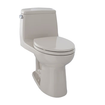 Toto MS854114-03 Ultimate Suite One Piece Elongated Toilet - Bone (Pictured in Cotton White)
