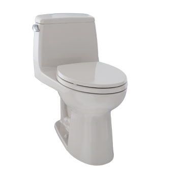 Toto MS854114S-12 Augusta Decorative Collection Ultramax Toilet 1.6GPF - Sedona Beige