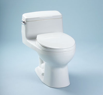 Toto MS863113-01 Supreme Suite One Piece Toilet - Cotton White