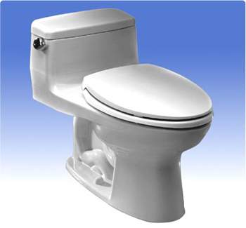 Toto MS863113-12 Augusta Decorative Collection Supreme Toilet 1.6GPF - Sedona Beige (Pictured in White)