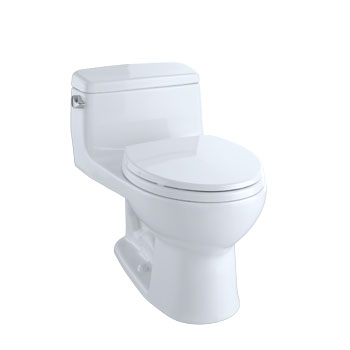 MS863113E-01 Toto Eco Supreme Suite One Piece Toilet - Cotton White