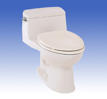 Toto MS864114-01 Supreme Suite One Piece Toilet - Cotton White