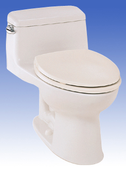 Toto MS864114-03 Supreme Suite One Piece Toilet - Bone