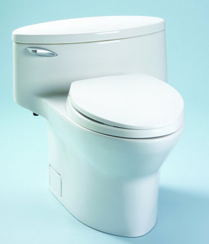 Toto MS904114-51 Pacifica One Piece Low Profile Toilet - Ebony (Pictured in Cotton White)