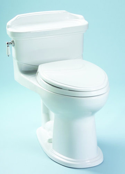 Toto MS924154F-51 Plymouth One Piece Low Profile Toilet - Ebony (Pictured in White)