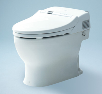 Toto MS950CG-11 Neorest 500 Elongated One Piece Toilet with Integrated Washlet - Colonial White (Pictured in Cotton White)