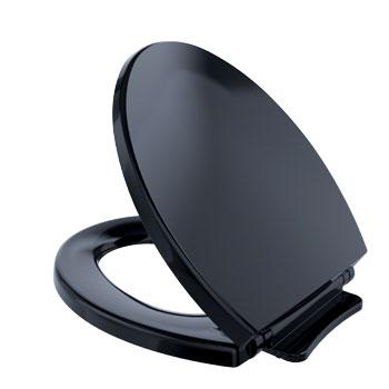 Toto SS113-51 SoftClose Round Toilet Seat - Ebony
