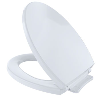 Toto SS114-01 SoftClose Elongated Toilet Seat - Cotton White