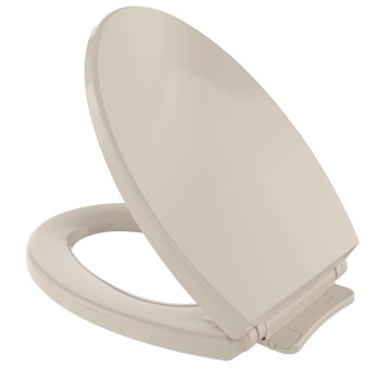 Toto SS114-03 SoftClose Elongated Toilet Seat - Bone (Pictured in Cotton White)