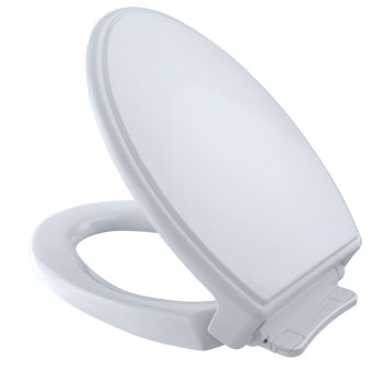 Toto SS154-01 Traditional SoftClose Elongated Toilet Seat - Cotton White